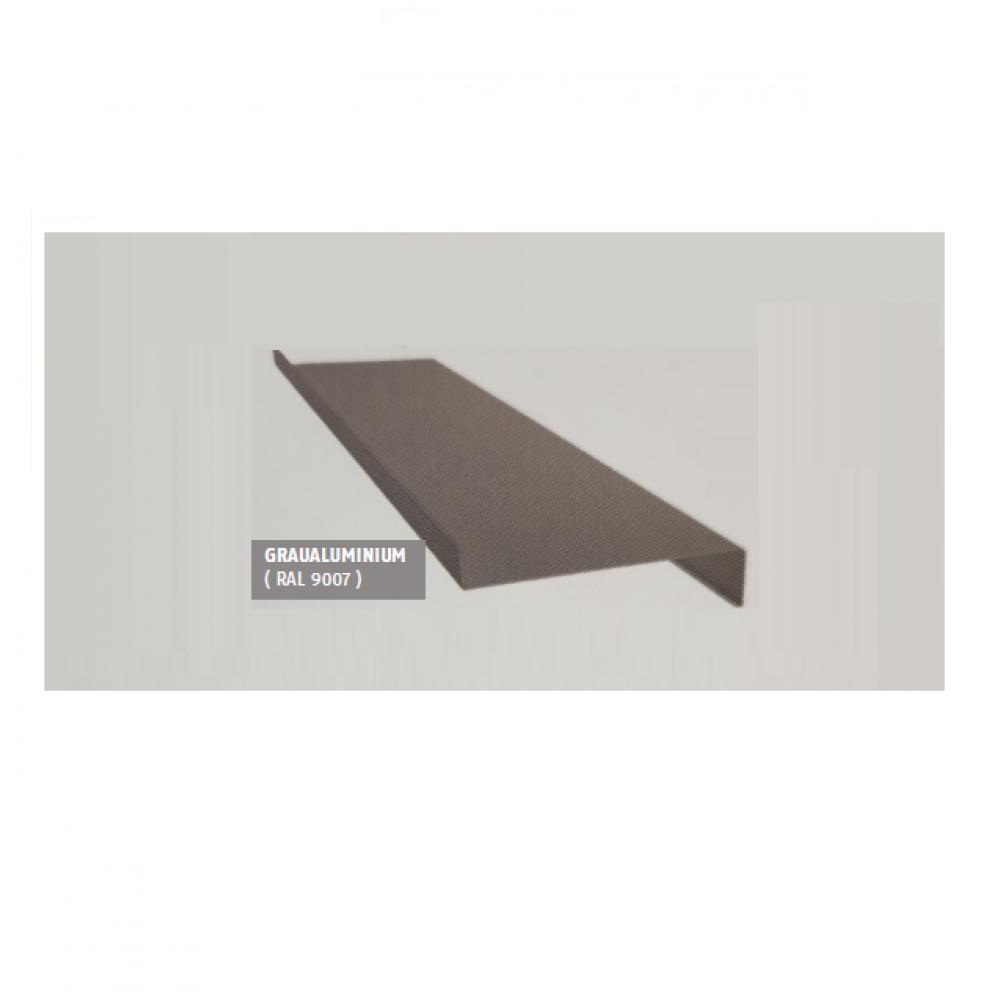 Aluminium Fensterbank silber EV1 320 mm Ausladung Aussen Fensterblech