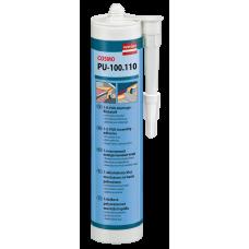 (22,26€/L) COSMO PU-100.110 1-K-PUR-Montage Klebstoff von weiss 310 ml