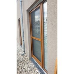 Fliegengitter Insektenschutz Tür Falz im Zargenrahmen - 14 mm Einbautiefe