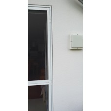 Fliegengitter Insektenschutz Tür im Zargenrahmen