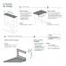 Lichtschachtabdeckung - Kellerschachtabdeckung Winkelprofil mit Wandanschluss nach oben